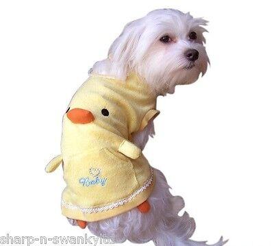 Haustier Hund Duck Halloween Weihnachtsgeschenk Kostüm Kleid Outfit Kleidung M