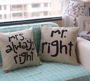 Mr & Mrs Cushion