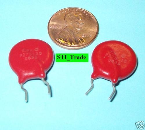 4X -  275V Varistor 275L20  - Voltage Surge Suppressor Littelfuse 4 Pcs