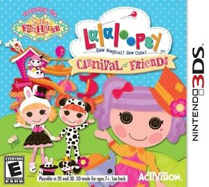 Nintendo game: Rarely used Lalaloopsy Carnival of Friends 3DS