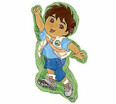 Nickelodeon Diego Birthday Party SuperShape Jumbo Balloon - Diego Birthday Party