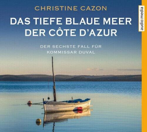 Das tiefe blaue Meer der Côte d'Azur / Kommissar Duval Bd.6 (4 Audio-CDs) NEU