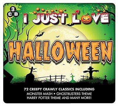 I Just Love Halloween - 72 Creepy Crawly Classics 3CD NEW/SEALED (Halloween 3 Soundtrack Cd)