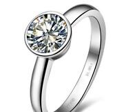 1 Ct Diamond Solitaire Engagement Ring