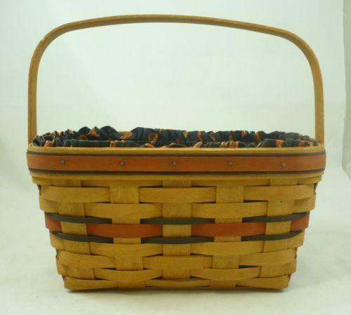 Longaberger boo basket ebay Longaberger baskets for sale
