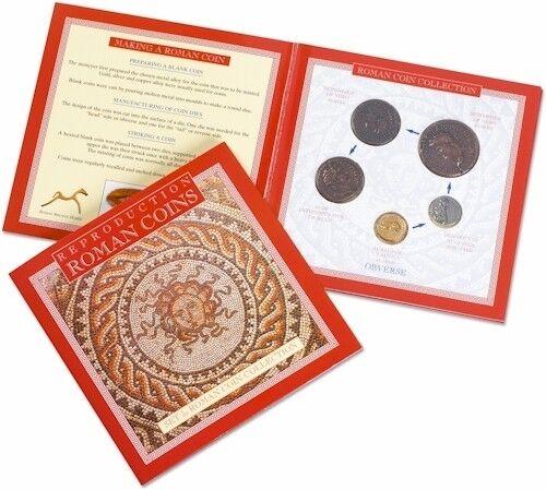 Roman Coins Replicas Emperors  Augustus Claudius Nero Antoninius Pius 8009