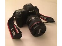 CANON EOS 5D MARK III 22MP DIGITAL SLR CAMERA With Lens - Low Usage