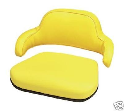 2 Piece Yellow Seat Cushion Set John Deere 310310a310b401 Backhoe Loader Lc