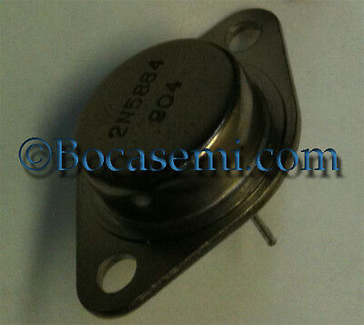 2n5884 25a 80 V Pnp Bipolar Power Transistor To3 New Mfr Bsc