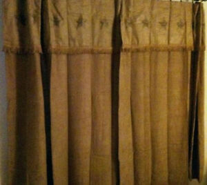 Country western texas star shower curtain matches western - Star shower ebay ...