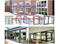 UPVC WINDOWS AND DOORS SUPPLY ONLY OR SUPPLY & FIT (FACTORY PRICES)