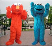 Elmo & Cookie Monster Mascot Costume Rentals