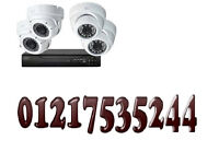 cctv camera system supplied and fitted 4 camera system hd