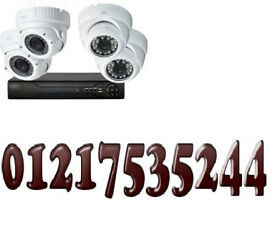 cctv camera system fully supplied and fitted