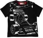 Boss T-shirts Zwart (92 - 98)