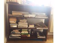 Rustic Wooden Bookshelf