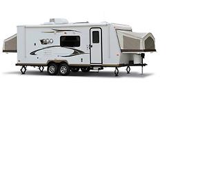 2011 Rockwoos ROO 183 - Hybrid  Travel Trailer