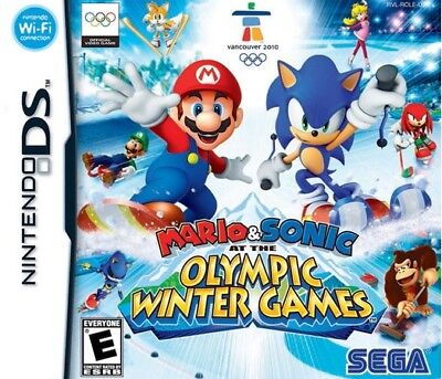 MARIO & SONIC OLYMPIC WINTER Game for KIds NINTENDO DS PAL EUR Fast Post UK](Mario Games For Kids)