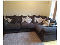 Hesta Grey Corner Sofa