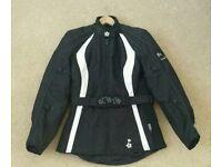 'Frank Thomas' Lady Rider Textile Motorbike Jacket.