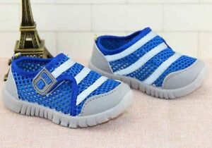 REDUCED ~ Children Breathable Sneakers Mesh Net Fabric Size 5 ~