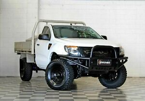 2013 Ford Ranger PX XL White 6 Speed Manual Cab Chassis Burleigh Heads Gold Coast South Preview
