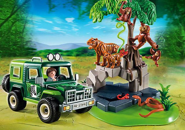 Playmobil Dschungel: gefährliche Tiere, prächtige Pflanzenwelt und geheimnisvolle Höhlen