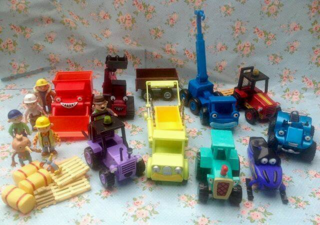 Bob The Builder Bundle Larger Sized Vehicles In