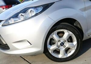 2010 Ford Fiesta WS CL Silver 4 Speed Automatic Hatchback Nunawading Whitehorse Area Preview