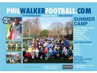 Phil walker's summer football camp