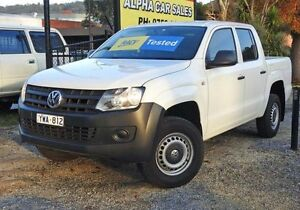 2012 Volkswagen Amarok 2H MY12 TDI340 White 6 Speed Manual 4D UTILITY Upper Ferntree Gully Knox Area Preview