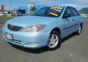 2004 Toyota Camry ACV36R Altise Blue 5 Speed Manual Sedan Westcourt Cairns City Preview