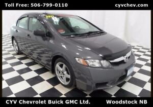 2011 Honda Civic Sdn DX-G Sedan - Manual, PW, PL, PM & CD