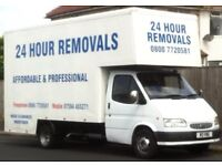 24 hour removals & house clearances & man & van hire Blackpool