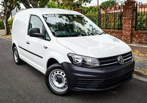 2015 Volkswagen Caddy 2KN MY16 TSI220 SWB DSG White 7 Speed Sports Automatic Dual Clutch Van Medindie Walkerville Area Preview