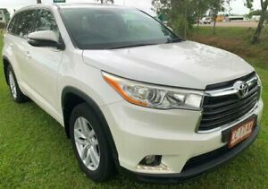 2015 Toyota Kluger GSU55R GX AWD White 6 Speed Sports Automatic Wagon Berrimah Darwin City Preview