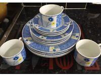 Brand new dinner set/dinner plates/cups