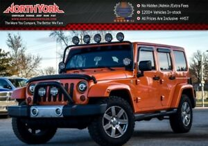 2013 Jeep Wrangler Unlimited Sahara 4x4|Connect.Pkg|Backup_Cam|T