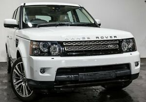 2012 Land Rover Range Rover Sport L320 12MY SDV6 CommandShift Luxury White 6 Speed Sports Automatic Rozelle Leichhardt Area Preview