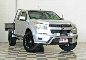 2013 Holden Colorado RG MY14 LX (4x4) Silver 6 Speed Manual Spacecab Burleigh Heads Gold Coast South Preview