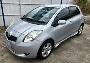 2006 Toyota Yaris NCP91R YRX Silver 4 Speed Automatic Hatchback Dandenong Greater Dandenong Preview