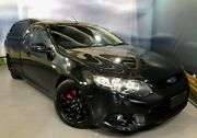 2013 Ford Falcon FG MkII XR6 Ute Super Cab Turbo Black 6 Speed Manual Utility Elizabeth Playford Area Preview