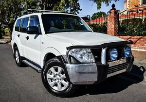 2011 Mitsubishi Pajero NW MY12 GLX White 5 Speed Sports Automatic Wagon Medindie Walkerville Area Preview