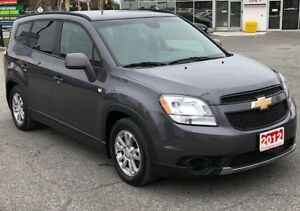 2012 Chevrolet Orlando LT 7 PASSENGER SEATING
