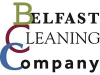 Cleaner required to join the Belfast Cleaning Company's cleaning team