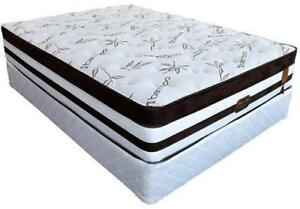 Queen Size Pocket Coil With Gel Memory Foam Mattress Regular $699 Sale Price $299