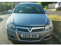 2008 Vauxhall Astra Sxi 1.6 Petrol. Full Service History. Low Miles. 2 Owners