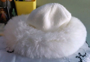 White Winter Hat *