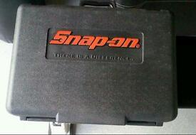 Case - Snap On 18v Cordless Impact Gun CASE AND INSTRUCTIONS ONLY