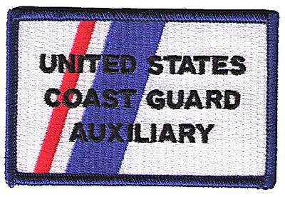 HOOK/LOOP Auxiliary stripe W5409V USCG Coast Guard patch flight suit